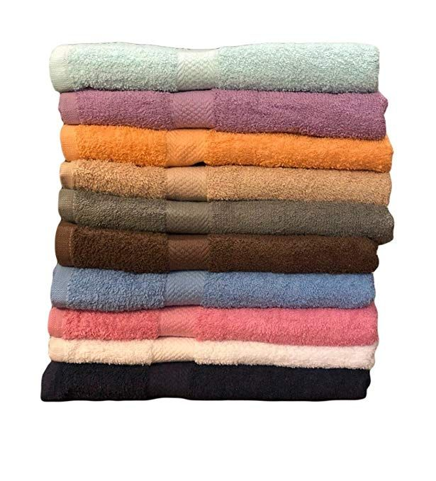Ecotowel Eco Towels 10 Pack Bath Towels Extra Absorbent 100