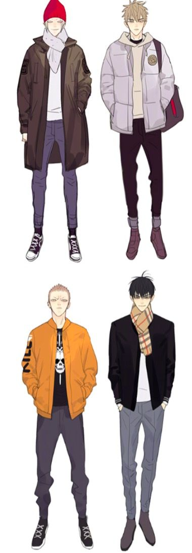 The four of them grown up!! Source: velvetrouge.tumblr.com