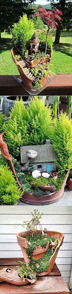 Новый тренд в садоводстве — мини-сад в горшке / Ландшафтный дизайн / 7dach.ru