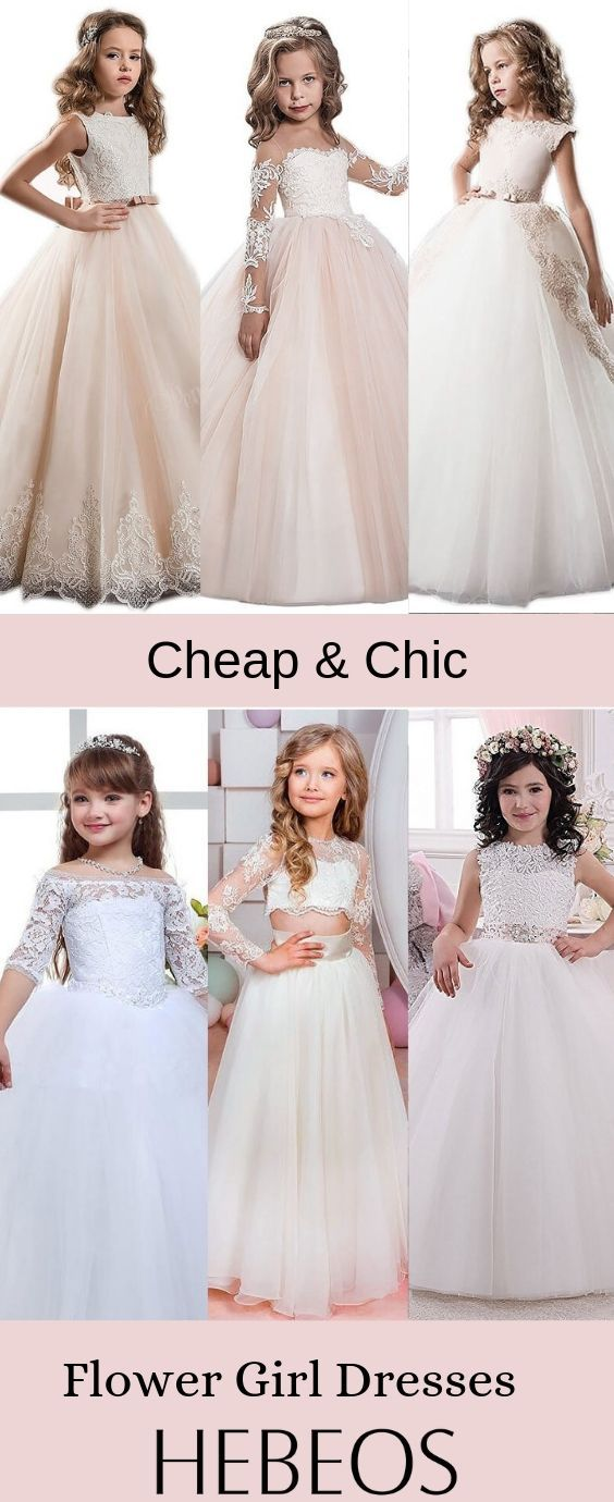 b9ddcb2b3 Cheap Flower Girl Dresses on Sale! Choose your perfect look at #hebeos now!  #wedding #weddingparty #weddingplanner #weddingguest #flowergirl