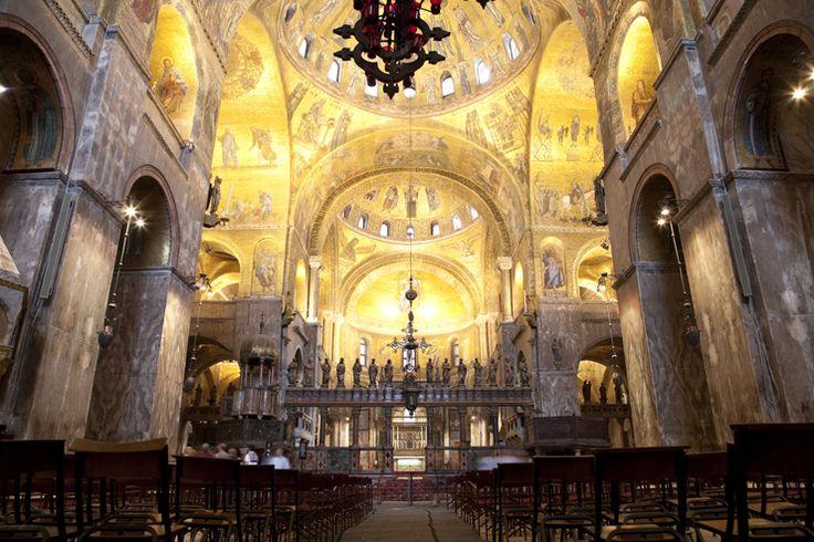 Basilica Di San Marco Venezia Veduta Dell 39 Interno
