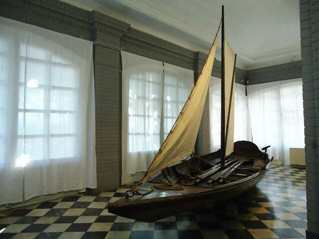 "Sailboat belonging to Peter the Great. ""AL"""