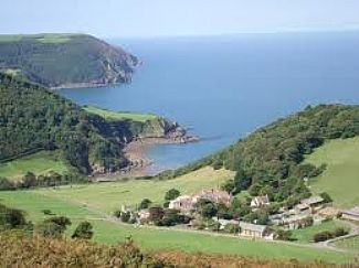 The stunning North Devon coast