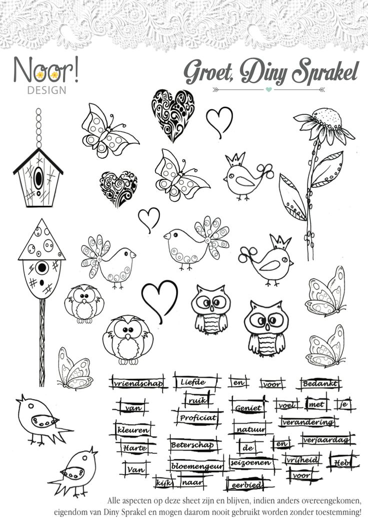 Noor! Design » Digi stempels