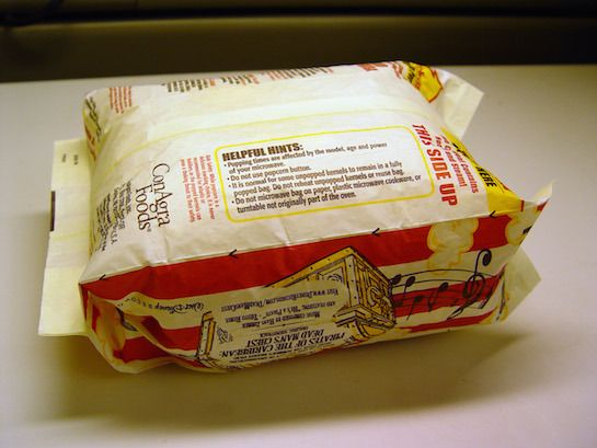 When I first read about the possible dangers of microwave popcorn, I assumed I would read about issues having to do with sodium and trans fats. What I've learned is that the real problem may be with the bag. The bag almost all microwave popcorn varieties come in is lined with perfluorooctanoic acid (PFOA). This […]