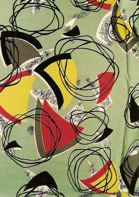 1950s Design color pallette