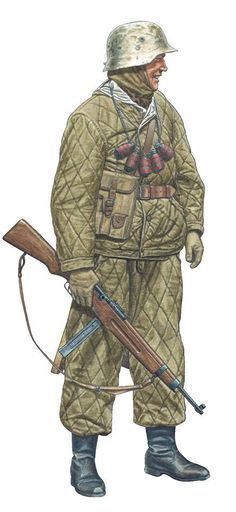 Hungarian soldier-defense of Budapest