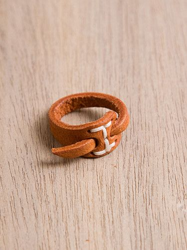 Hobo Leather Ring.