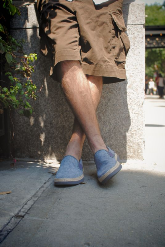 UGG Australia's canvas slip on shoes for men - the #Wilton #UGG4Men