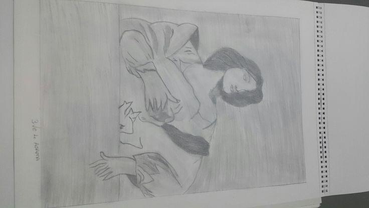 Karakalem çizim 3.asama