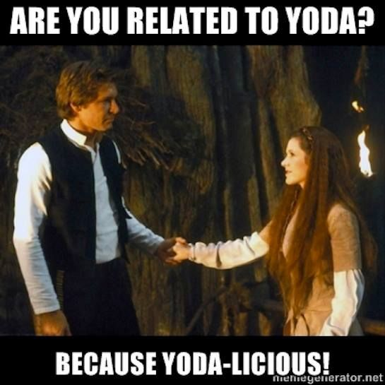Dirty Yoda Quotes: 44 Best Star Wars Pick Up Lines Images On Pinterest