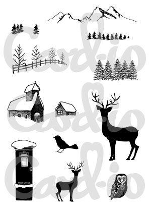 Christmas Scenery 1