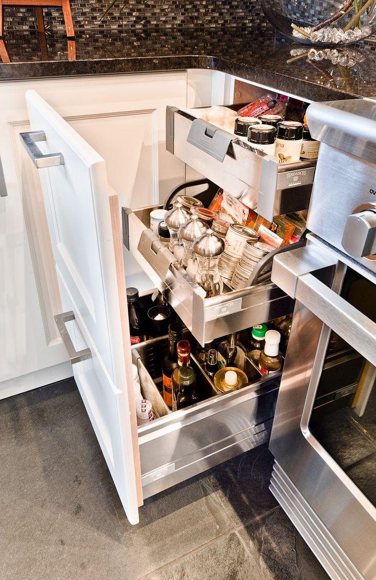 Armoires de cuisine Tendances Concept | Tiroir à épices