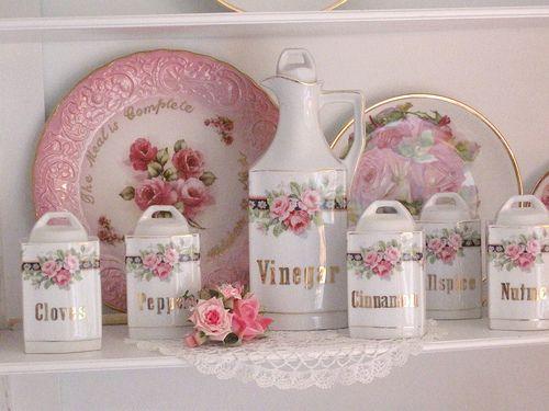 Розовая роза специи набор
