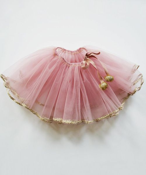 shopminikin - Atsuyo et Akiko Golden Tutu, Pink, $76.00 (http://www.shopminikin.com/atsuyo-et-akiko-golden-tutu-pink/)