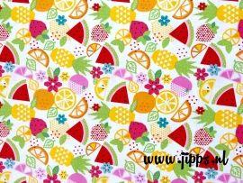 Fresh Market Main White - Riley Blake Designs - #onlinestoffen #stoffenwebshop #Rileyblake #kinderstoffen #fabric #retrostoffen #kidsfabric #sewing #stoffenonline #AHfabrics #Michaelmiller #BirchFabrics