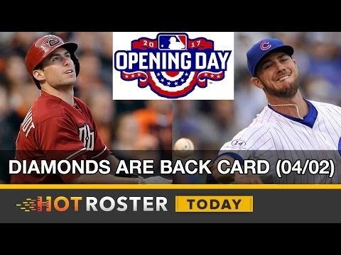 2017 Fantasy Baseball: MLB Opening Day DFS Preview (04/02)   HotRoster Today
