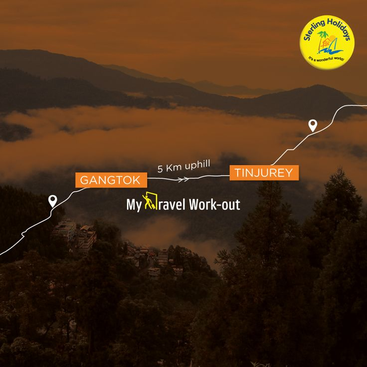 Gangtok town and Tista Valley on one side and Kanchenjunga in the north, a trek to Tinjurey is more than just rewarding. A 5 km trek with maple, pine and magnolia forests will surely rid you of your daily blues and fill you in with infectious zest. To book a holiday at ‪#‎Gangtok‬ - Delisso Abode, go to https://bookings.sterlingholidays.com/ #travel