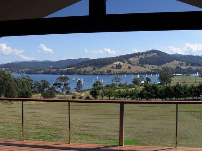 Moon River Retreat - Huon Valley, Tasmania, View from verandah