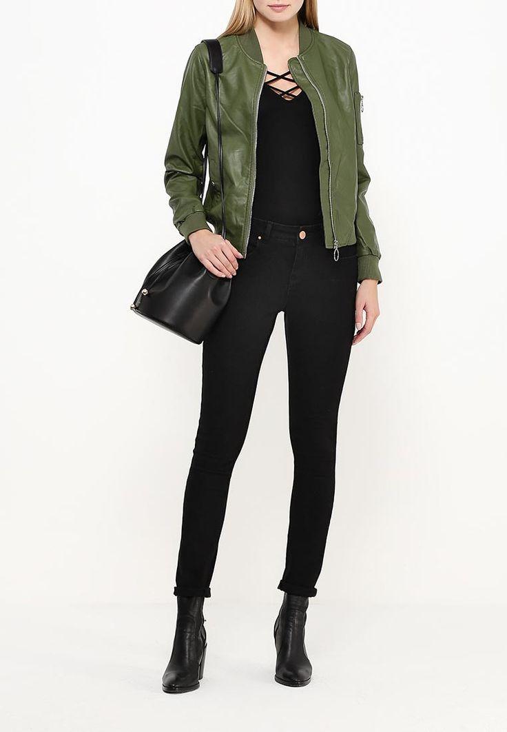 Куртка кожаная B.Style купить за 3 110 руб BS002EWQOA71 в интернет-магазине Lamoda.ru