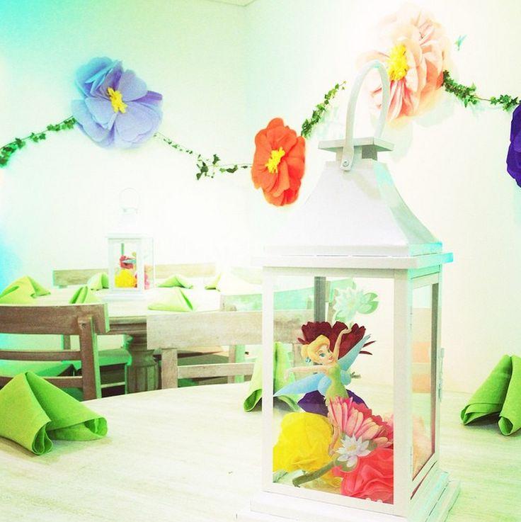 Cumpleaños Infantil  Tinker Bell - Bogotá