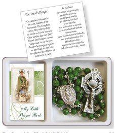 Green Shamrock Rosary.