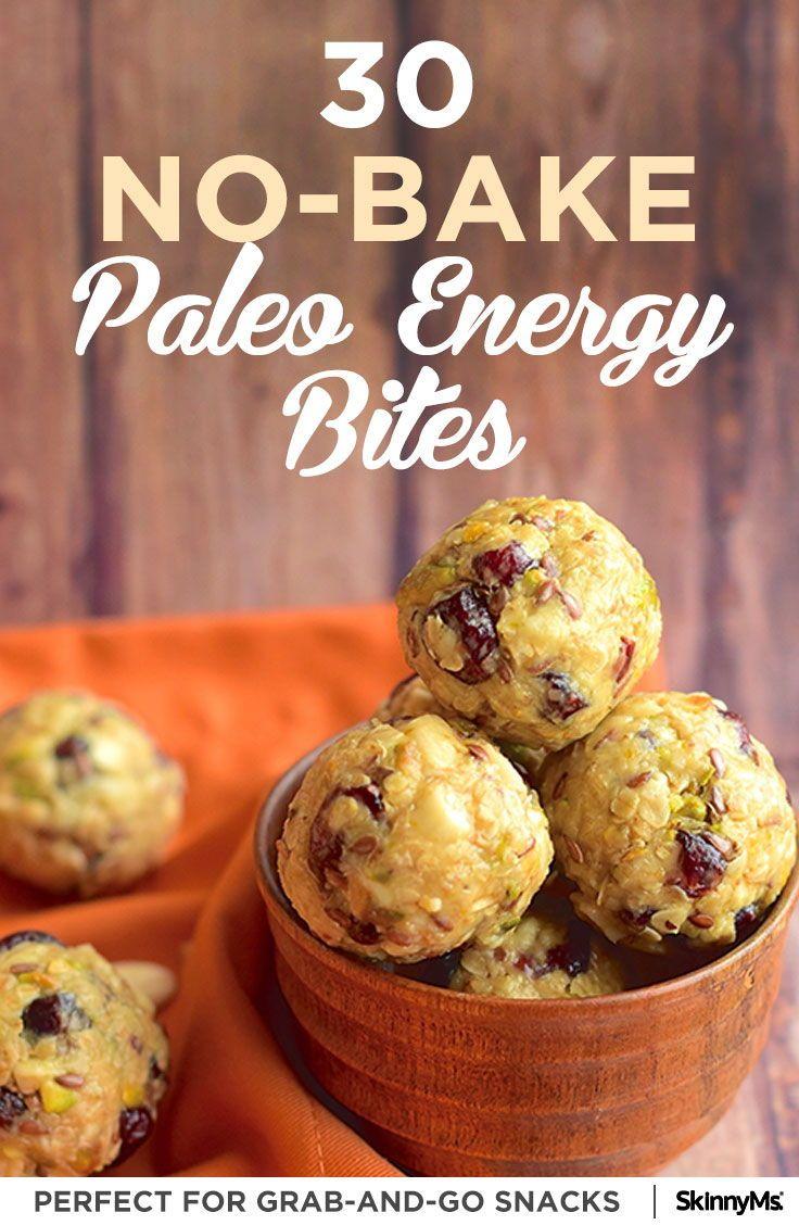 30 No-Bake Paleo Energy Bite Recipes