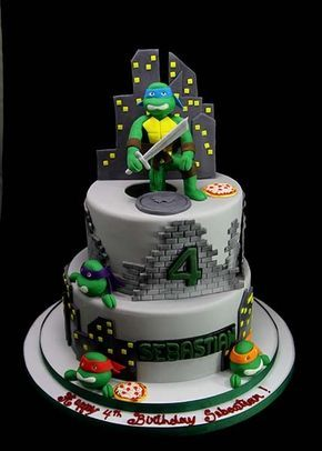 ninja turtles 3d cake - Google Search