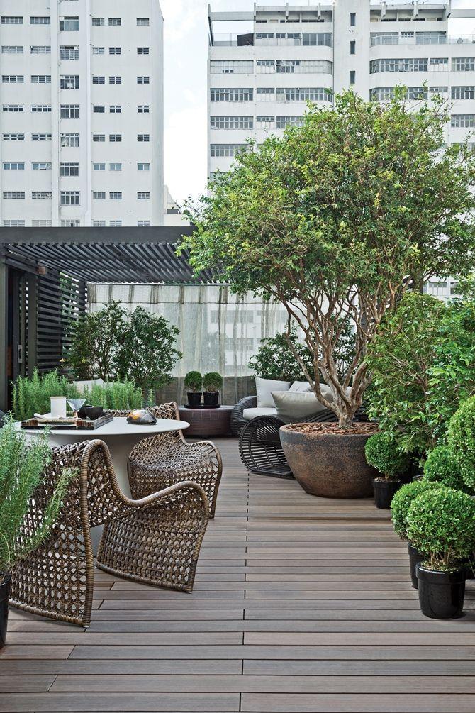 Stunning Rooftop Garden.