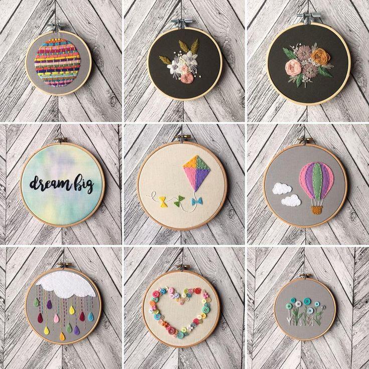 いいね!75件、コメント3件 ― Lil & Louis Stitchさん(@lilandlouis_stitch)のInstagramアカウント: 「I have just updated my Etsy shop with all of these hoops maybe I will get my first Etsy sale?! …」