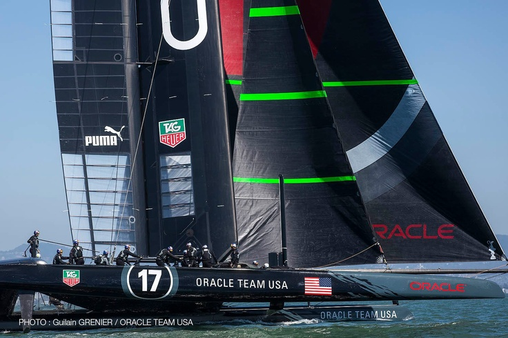 Day 2 (17 Sept) for ORACLE TEAM USA on '17'