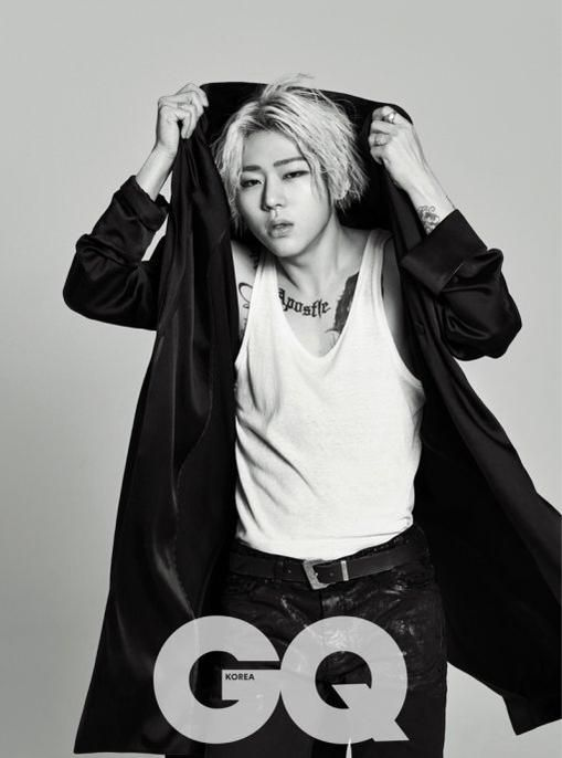 In the latest issue of GQ Korea, Block B's Zico threw a thunderstorm of shade at just about every ...