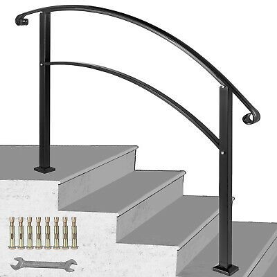 Best Details About 4Ft Handrail Angle Adjustable Fits 3 Or 4 640 x 480