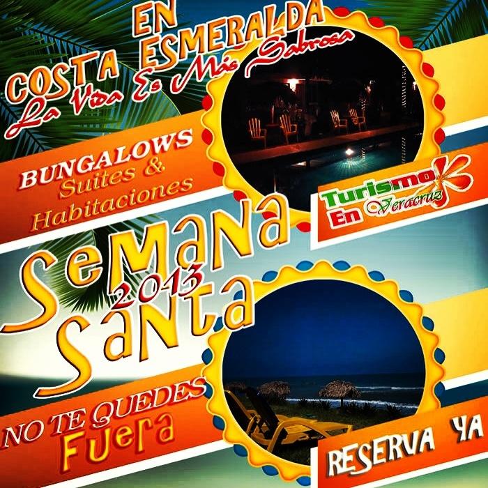 En #Costa #Esmeralda la #vida es más #sabrosa esta #SemanaSanta #2013 http://www.turismoenveracruz.com.mx/Costa-Esmeralda-Semana-Santa-2013.htm #Veracruz #CostaEsmeralda #playa #mar #bungalows #suites #habitaciones #hotel #vacaciones #turismo #viajes #travel #Mexico