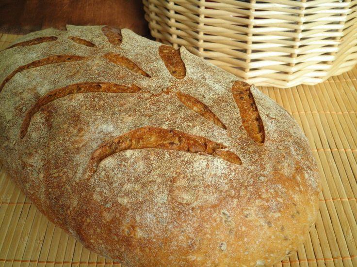 Зерновой хлеб (Jeffrey Hamelman) - СОЛНЕЧНЫЙ ПЕКАРЬ