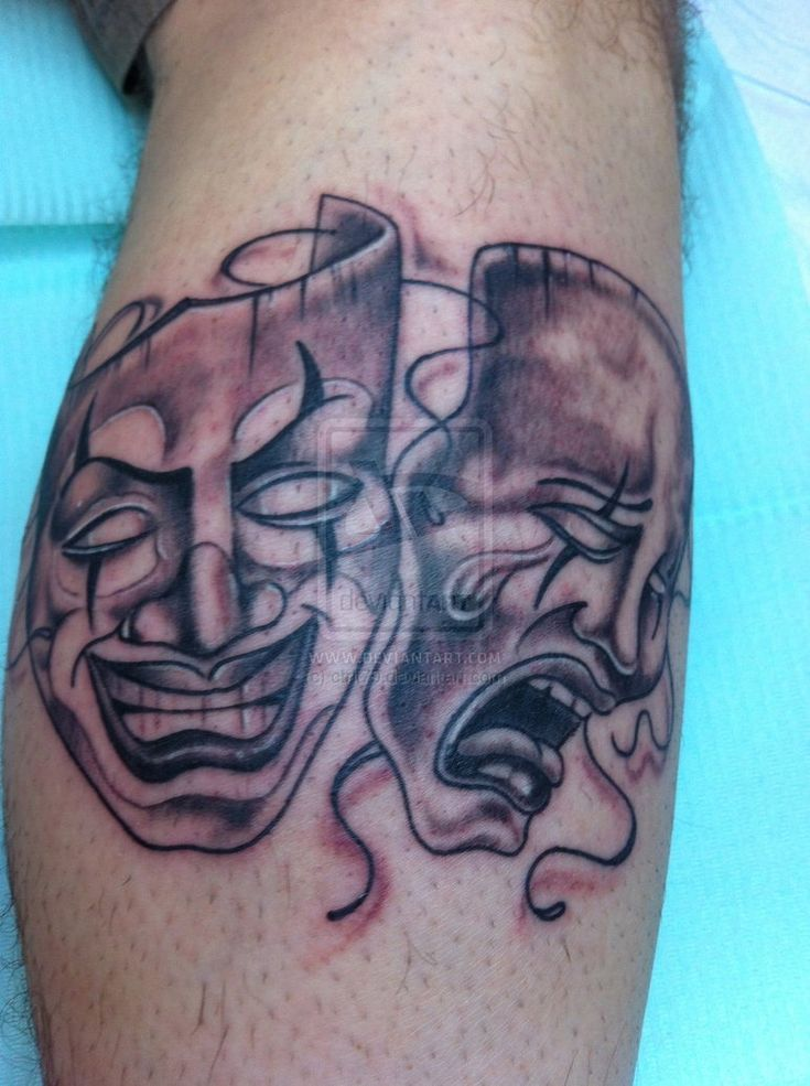 34 best Gangster Clown Tattoo Designs images on Pinterest ...