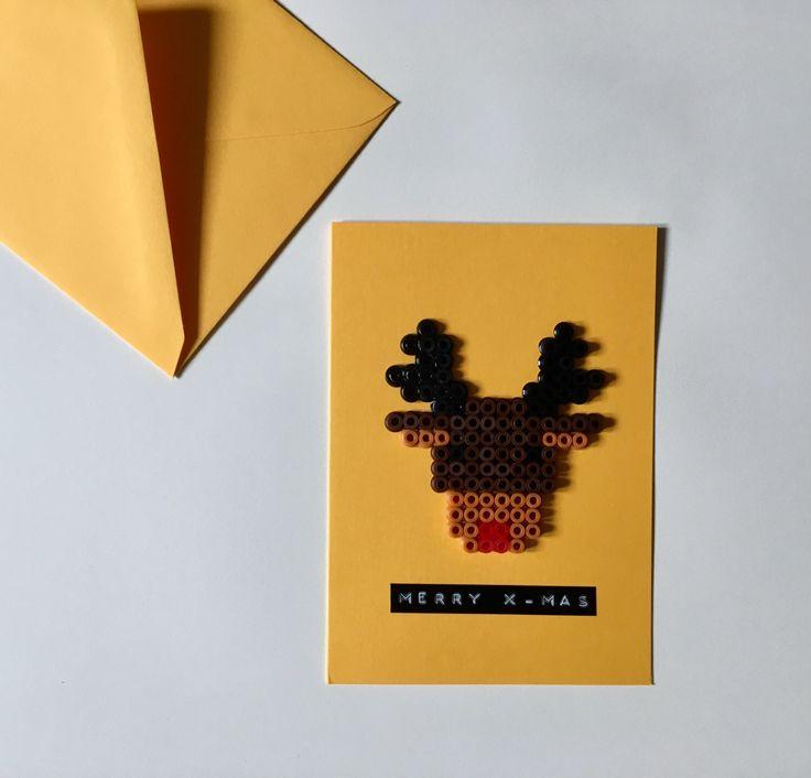 Ein persönlicher Favorit aus meinem Etsy-Shop https://www.etsy.com/de/listing/487953347/weihnachtskarte-mit-rentier-aus