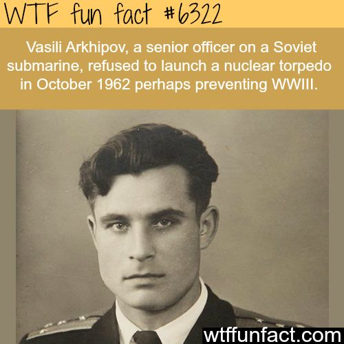 The man who Possibly Prevented  World War III.  FAITH IN HUMANITY RESTORED!  ~WTF awesome fun facts