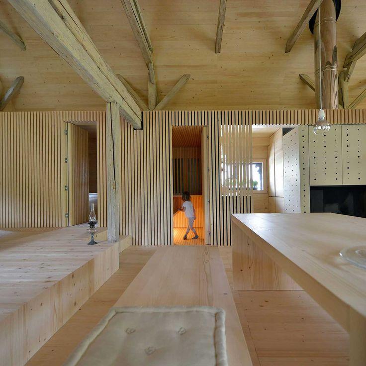 Alpine Barn Conversion by Ofis arhitekti_15