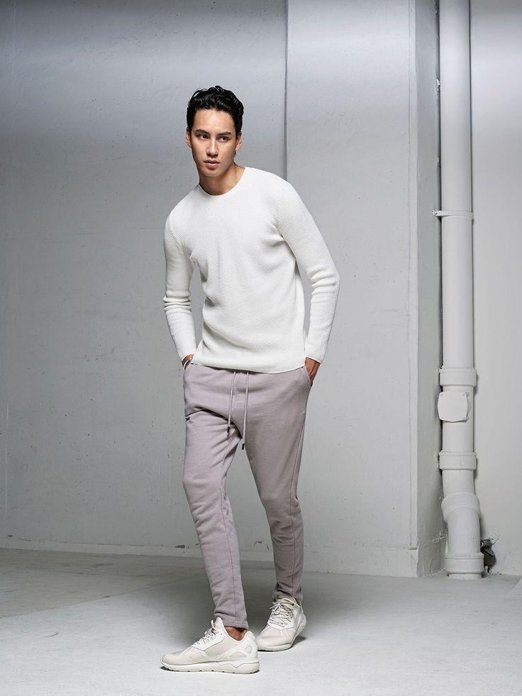 Adidas Tubular Runner White On Feet