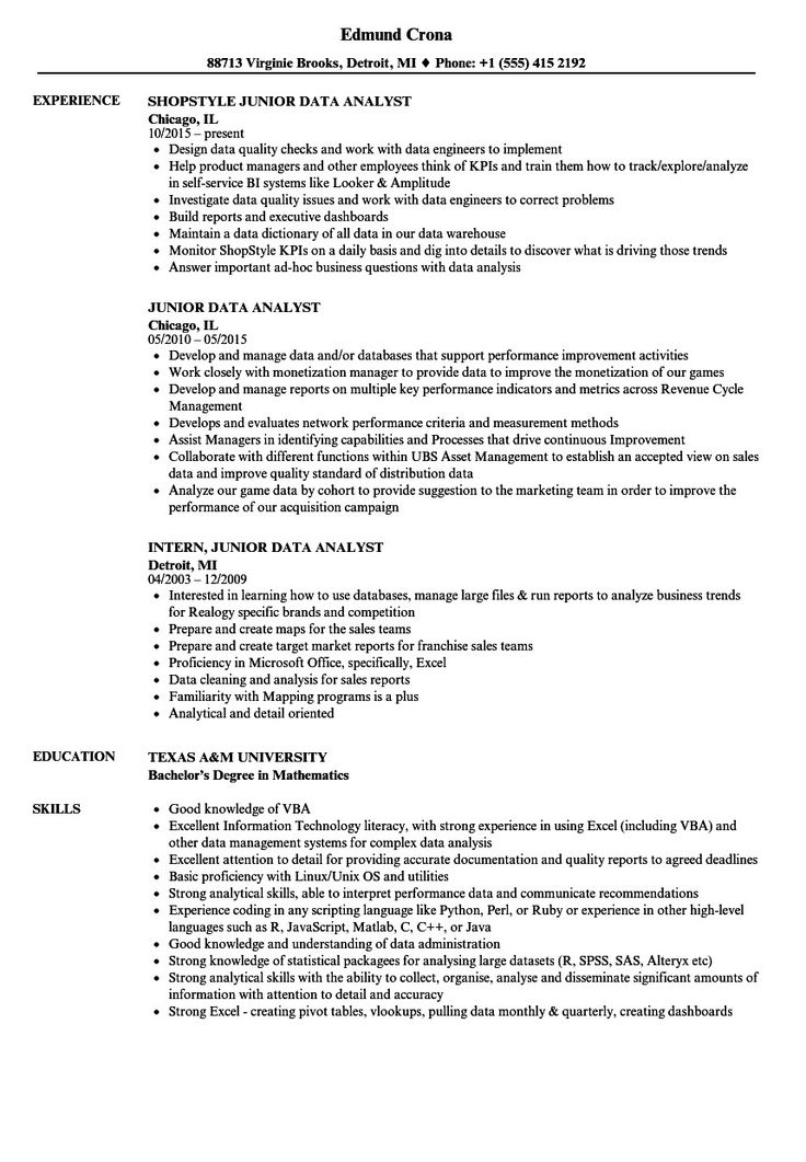 46++ Resume headline examples for entry level Resume Examples