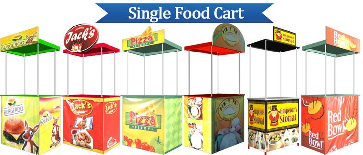 Food Cart Franchise Philippines: SINGLE FOOD CART