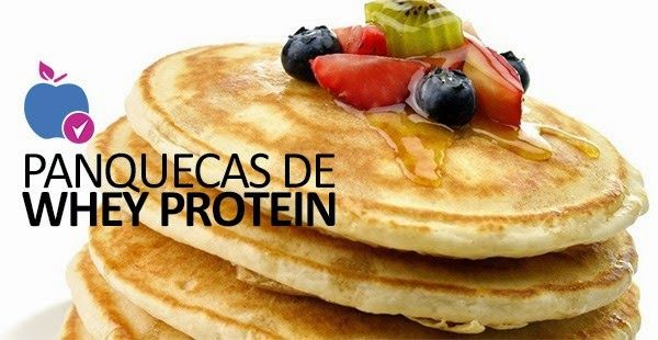 Panqueca de Whey Protein