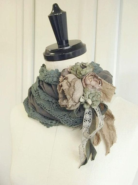 hand dyed corsage  moss rose by kikosattic on Etsy