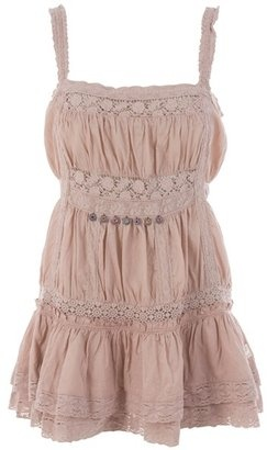 ShopStyle: ODD MOLLY - Cotton sundress with lace