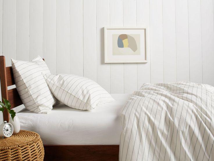 Stitch Stripe Bedding