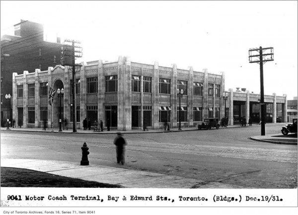 Toronto history: Toronto Coach Terminal