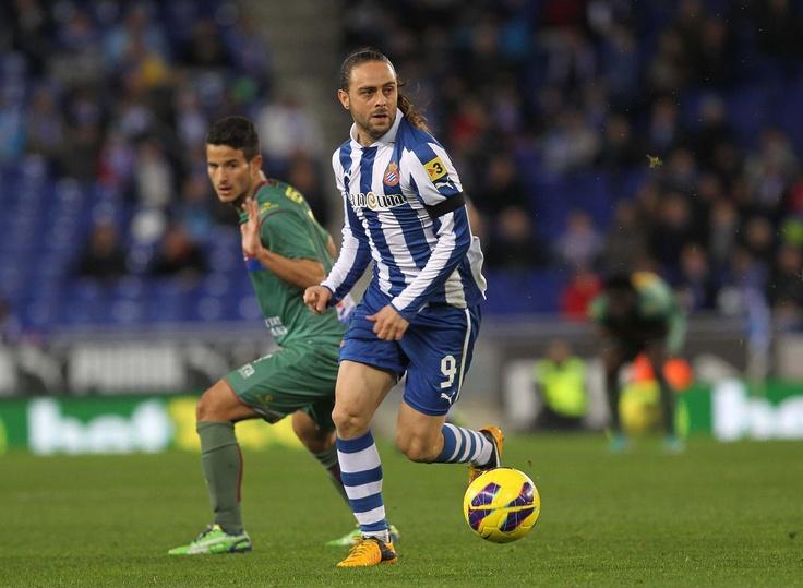 Sergio Garcia, best RCD Espanyol player. #liga #football