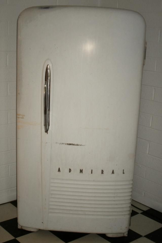 vintage refrigerators for sale | Vintage Admiral Refrigerator/Freezer (WORKS GREAT!) Photo