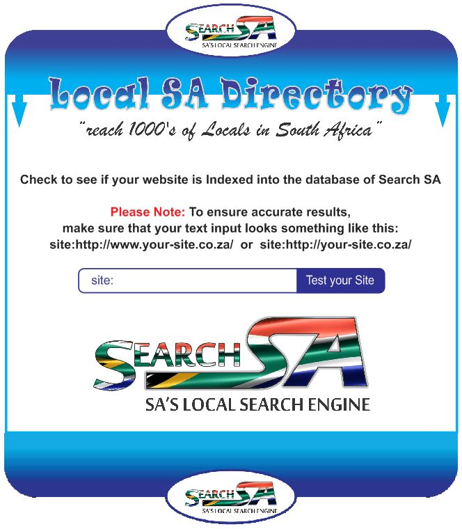 """BE-ON-TOP off all your Competitors! Dominate a specific category on the Local SA Directory. Do so by """"Locking-ur-Listing"""" for only R550.   U will STAY at the TOP of the category for 3 Months & you'll receive extra links on various related pages, searching possibilities on Search SA will increase & all links will lead visitors to your Business Listing/Website.  Post via SEARCH SA - You can Post UNLIMITED Listings on various categories on Local SA Directory. http://tinyurl.com/Free-Ads-SA"""